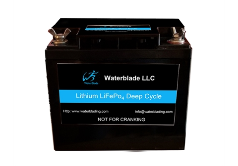 24V Lithium Battery LifePo4 - 50Ah ( 25.6V ) 12′