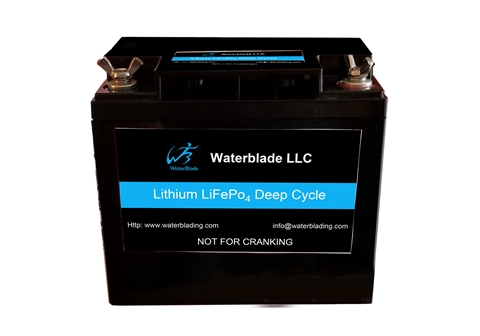 Lithium Battery LiFePo4  12.8V 100Ah 12′